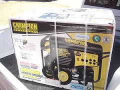 Champion Dual Fuel Portable Generator